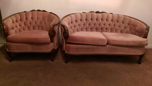 VICTORIAN STYLE SOFA, LOVE SEAT AND CHAIR Cambridge Kitchener Area image 2