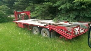 Tandem Axle equipment trailer/great for hay or equipment hauling