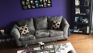 150$ Grey Couch for sale - Must be picked up.