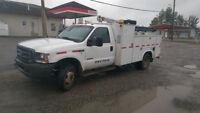 04 Ford F-550 Service Truck w/ VMAC and Cobra Crane, EX CP Rail