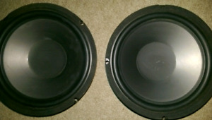 FOR SALE 2 -150 WATT ....8 INCH SUBS  (BRAND NEW)