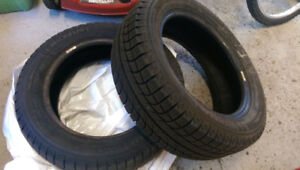 Michelin X-ice Xi2 - ONLY 2 TIRES - 195/55/R15 - $80