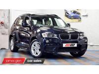 2013 13 BMW X3 2.0 XDRIVE20D M SPORT 5D AUTO 181 BHP DIESEL