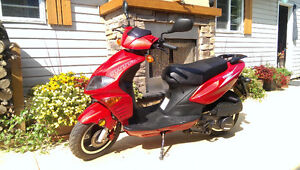 Red Scooter for Sale