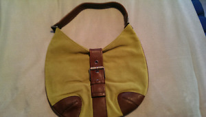MICHAEL KORS SUEDE AND LEATHER PURSE!!