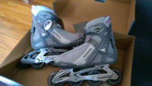 Brand New Ladies' Rollerblade Brand In-Line Skates - Size 9