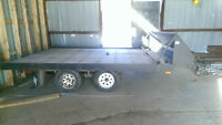 Snow mobile trailer
