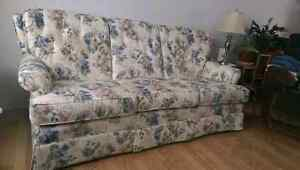Couch and armchair set $200