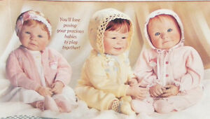 3 NEW Yolanda Bello Bebe Story of Love Ash.Drake Baby Dolls