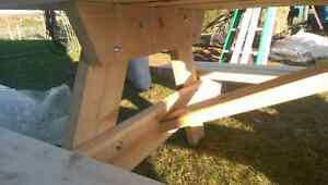 Cedar picnic table (built and ready for sale) Peterborough Peterborough Area image 6