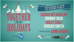 """""""Together for the Holidays"""" @ Massey Hall - Host Jann Arden"""