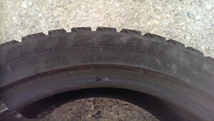 Bridgestone Blizzak LM-60  Tires For Sale London Ontario image 2