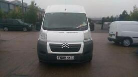 2008 CITROEN RELAY 2.2 HDi H2 120ps Low Miles 12mth Warranty AA Cover No Vat