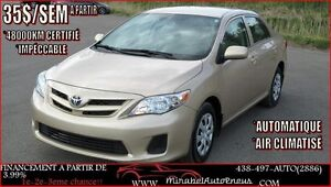 Toyota Corolla A/C AUTO *48000 KM SEULEMENT* 2011
