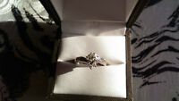 Engagement or Promise Ring, Spence Diamonds, White Gold
