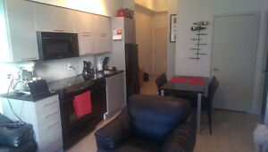Large, bright one bedroom with balcony in downtown Toronto