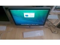 "**Price Drop** For Sale (2 of 2): 2008 24"" Apple iMac 4GB RAM, 320GB HDD- £275"