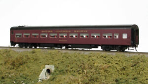 HO PWRS Rapido BCR passenger train - Royal Hudson