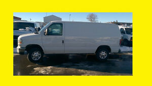 2010 FORD E250 CARGO RUNS AND LOOKS LIKE NEW