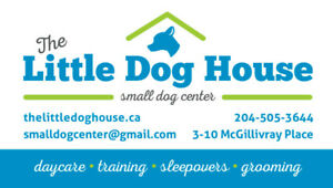 THE LITTLE DOG HOUSE
