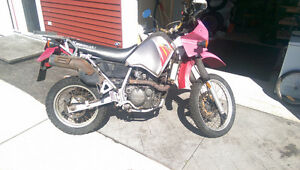 Selling TWO KLR 650 (although one is in parts)