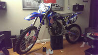 2008 yz 250f with big bore athena 290cc fresh bottom and top