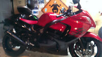 2014 Suzuki Hayabusa 50th Anniversary Edition Showroom MINT
