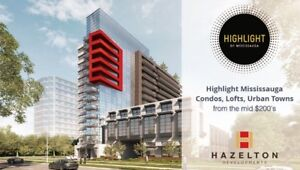 Mississauga Brand New HIGHLIGHT Condos From $329,900 FREE Locker