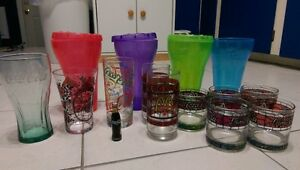 Vintage Coke glass Set and are perfect must go or Best Offer
