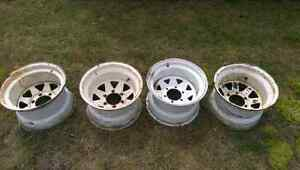 15x10 6 bolt chev rims