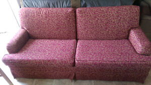 Sturdy and Clean Fabric Sofa