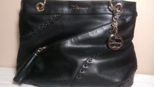 D'demoo Italian leather hand bag large