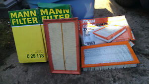 Four New Engine Air Filters  Saab 900.