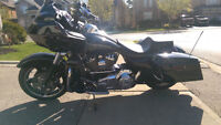 WOW Road Glide that has been pampered and Q tip clean