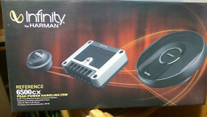 "Infinity Reference by Harman 6.5"" Component Car Speaker"