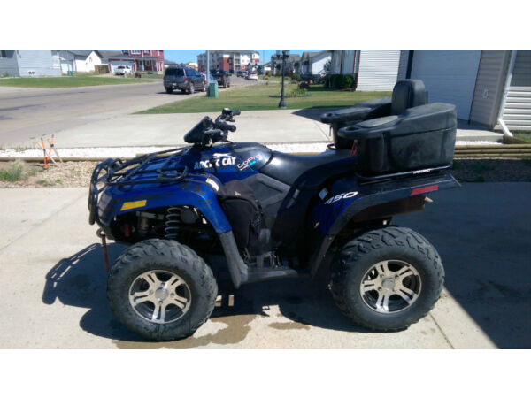 Used 2012 Arctic Cat 450i EFI GT 4x4
