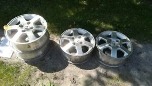 HONDA 15 INCH RIMS WITH 4 BOLT SYSTEM - OMEMEE