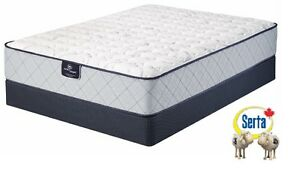 FIRM SUPPORT Serta QUEEN-Size Mattress set - BRAND NEW!