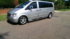 Mercedes Benz vito 9 seater Taxi courier