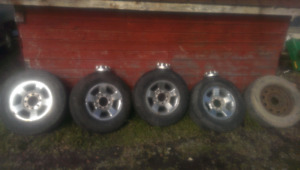 Dodge 2500 Wheels and Tires