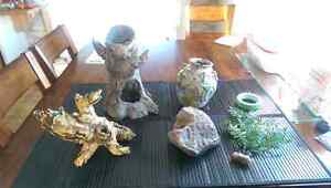 Various decor items