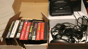 SEGA GENISUS GAME CONSOLE AND GAMES FOR SALE!!!!