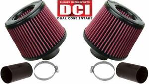 BMS DCI Dual Cone Performance Intake for BMW N54