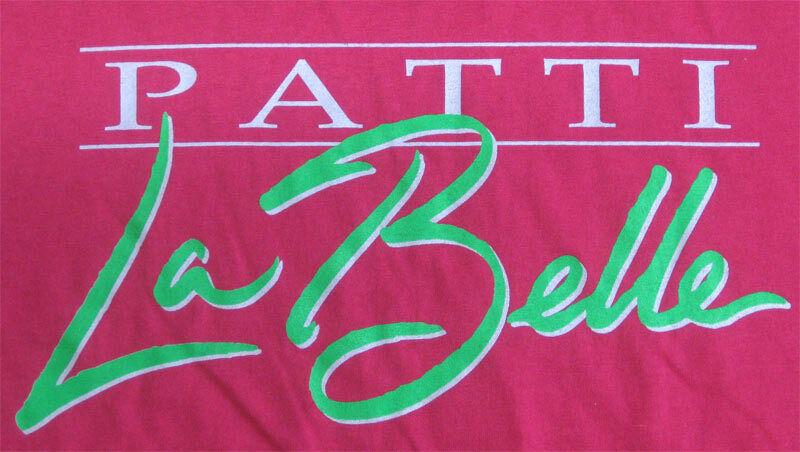 Patti LaBelle RARE ORIG XL Tour Shirt VTG Concert Neon Pink Oakland - Las Vegas