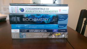 Chemistry & Biology Textbooks (UTM 16/17 Life Sciences)