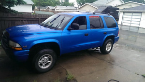 1999 Dodge Durango trade for van? Larger suv?