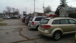 OUTDOOR PARKING  MONTHLY FROM $50.00