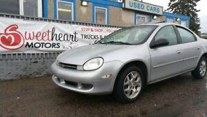 2001 Chrysler Neon Sedan