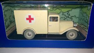 1/43 DIECAST TINTIN ' L'ambulance '