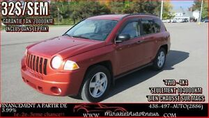 Jeep Compass 4WD-4X4 *GARANTIE 1AN * 2008